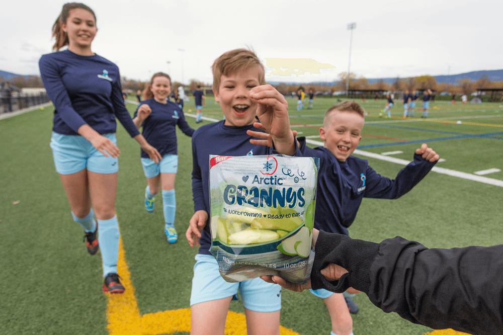 Arctic Granny Slices Soccer